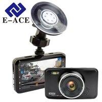 E ACE Novatek Dashcam DVR Mini Automotive Dvrs HD Video Recorder With Led Flashlight Night Vision
