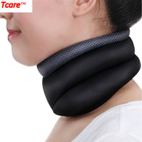Tcare Massage Neck Traction Massager Corrector Health Care Relax Neck Support Brace For Head Back Shoulder