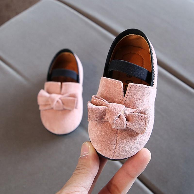2018 novo 11.5-13.5 CM Do Bebê Meninas Primeiro Walker Sapatos de Tecido de Algodão de Borracha Cor De Rosa Vestido de Princesa Macio Preto Do Partido sapatos Infantis