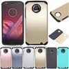 Dual Layer TPU+PC Hybrid Armor Case With Screen Protector Shockproof Slim Hard Case Cover For Motorola Moto Z2 Play Droid