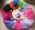 free shipping infancy  whole of clothes rainbow tutu dresses  baby girl gresses