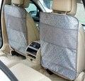 Para fiat panda 500 gris beige negro impermeable del coche fiat punto asiento protector de espalda Cubierta de la Caja Niños Patada Estera estera de Barro Limpio