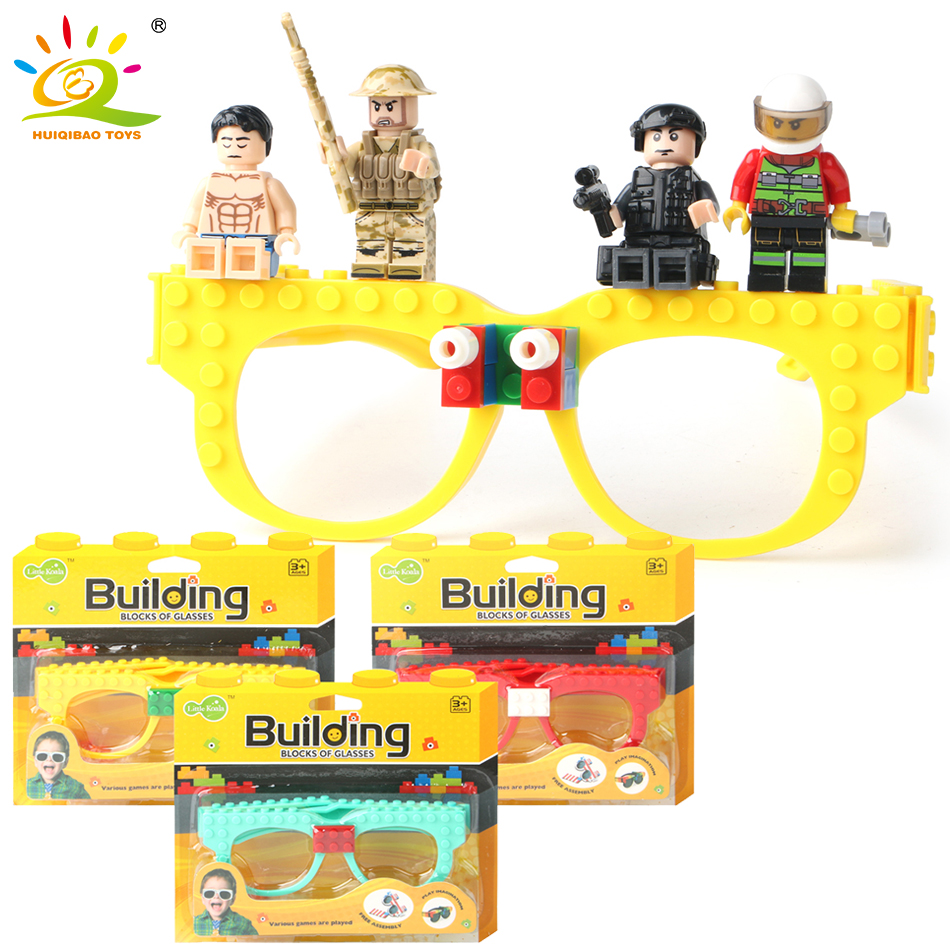 New Building Blocks Of Glasses Baseplate Frame Compatible Legoed - Building and Construction Toys - Photo 1