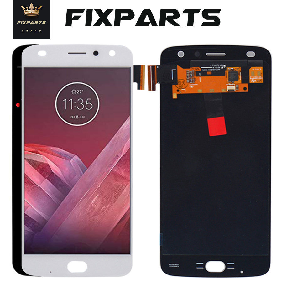 Original For Motorola Moto Z Play LCD Display + Touch Screen Digitizer Panel Assembly Replacement For Moto <font><b>XT1635</b></font> LCD Z2 Play image