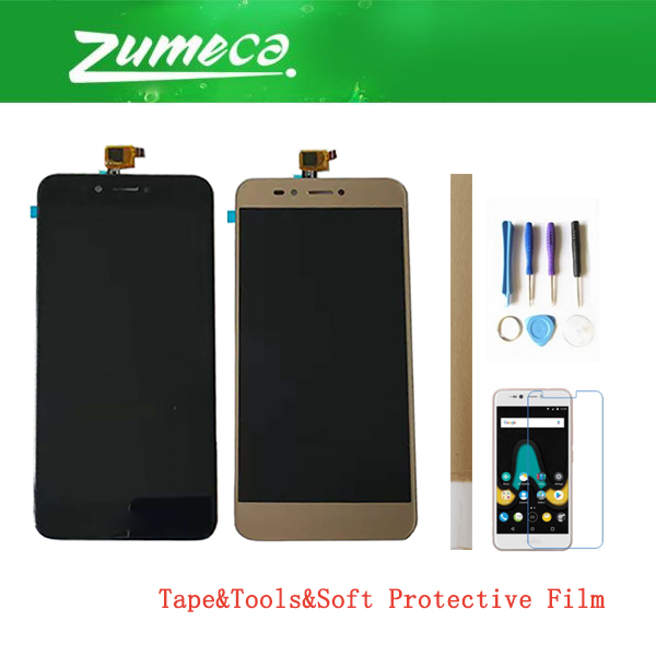 5.2 Inch For Wiko Upulse Lite Wiko Upulse LCD Display+Touch Screen Digitizer Assembly Replacement Part Black Gold Color+Kits5.2 Inch For Wiko Upulse Lite Wiko Upulse LCD Display+Touch Screen Digitizer Assembly Replacement Part Black Gold Color+Kits