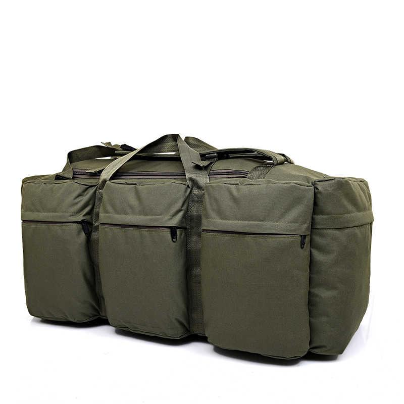 90L большой емкости мужская Военная тактика рюкзак многофункциональный водонепроницаемый Оксфорд поход рюкзаки для кемпинга износостойкая дорожная сумка