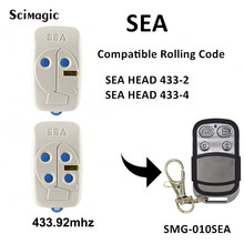 3 шт. морской головы 433-2 433-4 плавающий код дистанционного управления морской ручной передатчик 433,92 МГц, для гаражной двери пульт дистанционного управления брелок