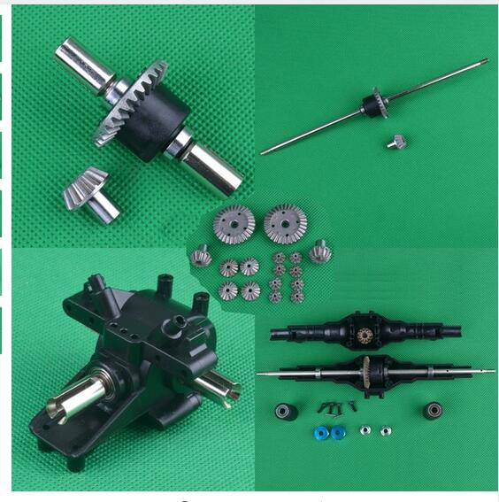 Details about  /US SELLER Metal Axle Rear Differential Gear Parts Wltoys 12428 12423 RC diff