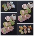 Baby Girl Leather Sandals Toddler Squeaky Sandals Little Children Summer Dress Shoes Sounds Outsole Free Shipping