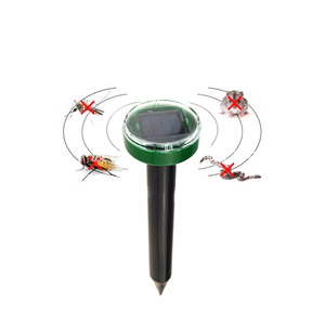 Image 2 - Outdoor Tuin Mole Repellent Solar Ultrasound Mole Snake Vogel Mug Muis Ultrasone Deworm Controle Tuingereedschap