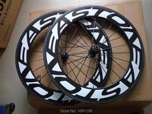 Новый 700C 88 мм довод обод дорожный велосипед aero 3 К UD К 12 полный углеродного волокна Колесная V тормоз 23 25 мм ширина бесплатная доставка