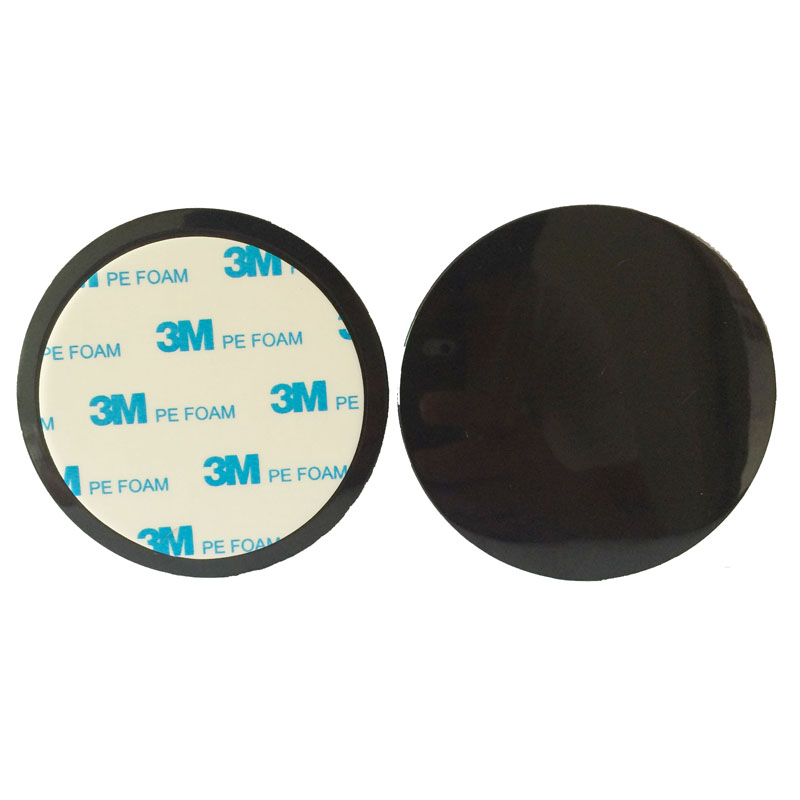 New Sell 80mm 3m Glue Sticker Dash Pad Mount Disc Car DVR GPS Recorder Navigator Suction Cup Holder Adhesive Fixing Pad Base