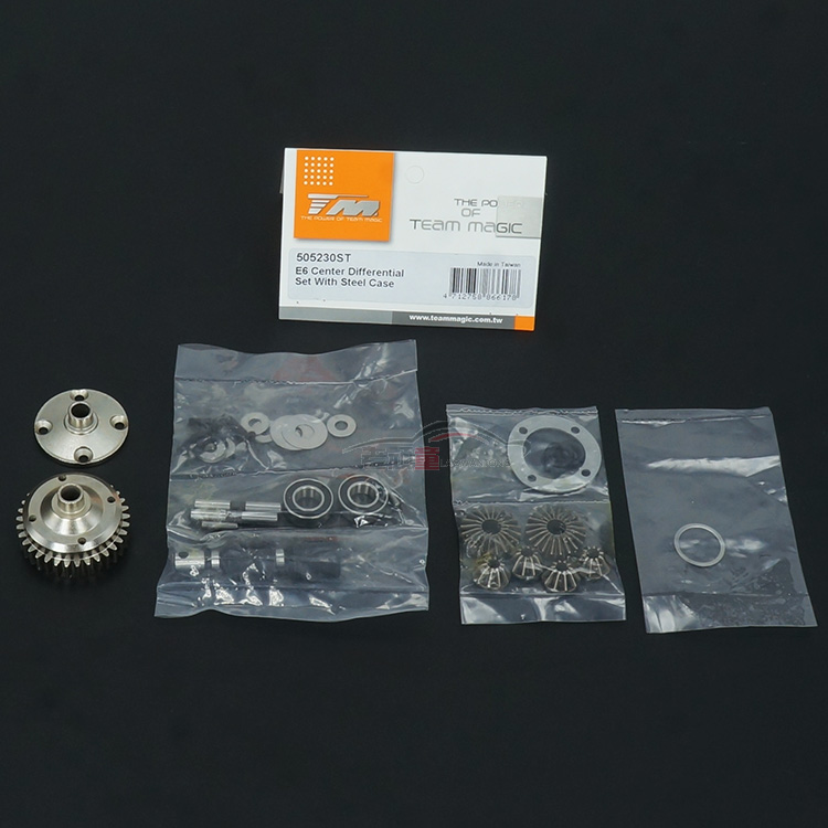 TM big feet E6II E6III fittings, all metal medium difference, high speed 505230ST for RC CarTM big feet E6II E6III fittings, all metal medium difference, high speed 505230ST for RC Car