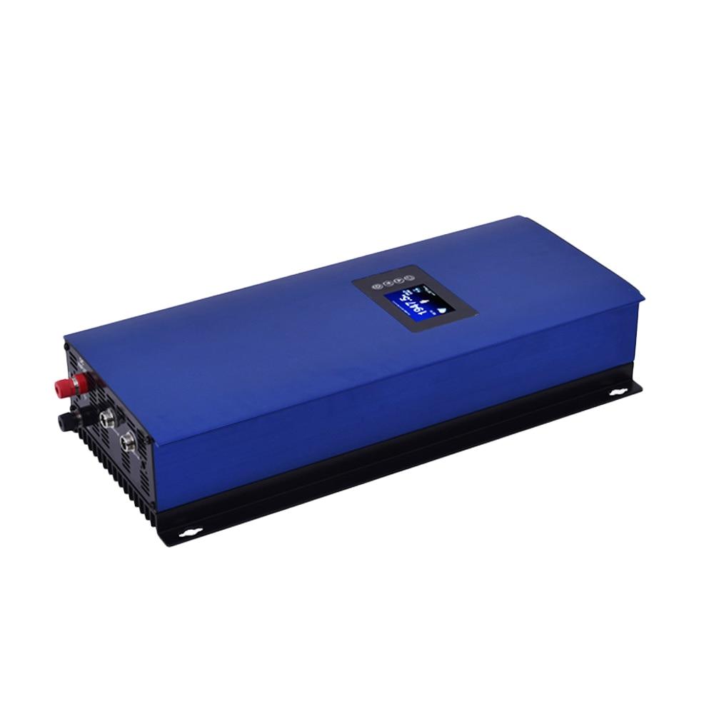 2000W MPPT Solar Power on Grid Tie Inverter with Limiter 45-90VDC AC 220V 230V 240V LCD maylar 2000w solar grid tie power inverter with lcd