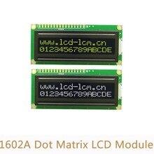 5 В 1602a матричный Экран модуль Черный Подсветка желтый слово ЖК-дисплей Дисплей модуль L5