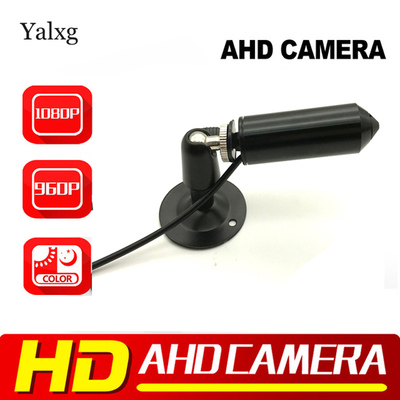 Yalxg Mini Bullet 2.0M 1080P Full-HD AHD Camera SONY IMX 323 CMOS Sensor StarLight 0.001 Lux Security CCTV Camera 3.7mm LensYalxg Mini Bullet 2.0M 1080P Full-HD AHD Camera SONY IMX 323 CMOS Sensor StarLight 0.001 Lux Security CCTV Camera 3.7mm Lens