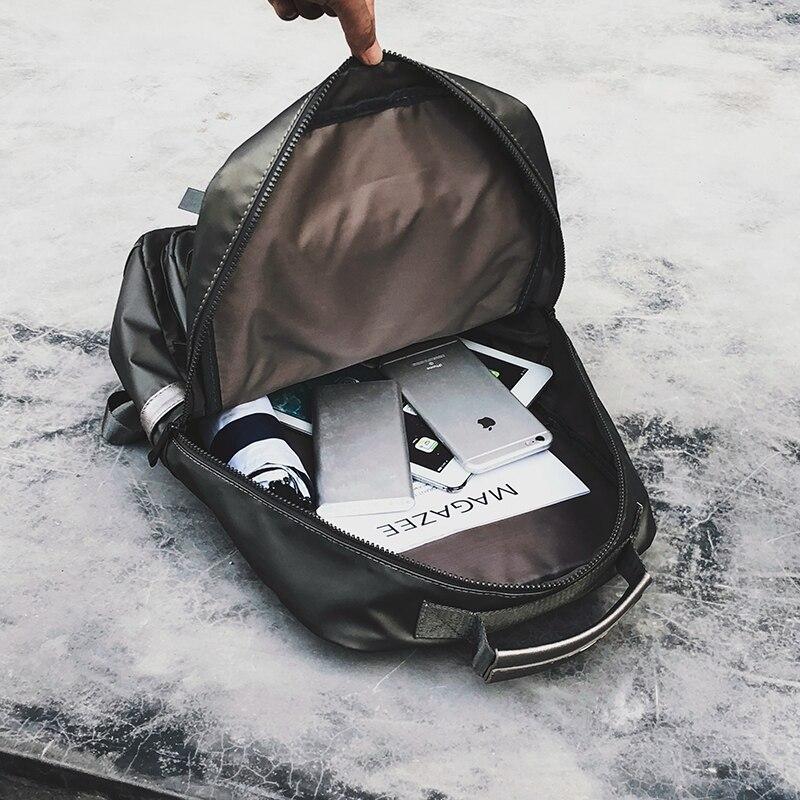Nylon femmes sac à dos de voyage pour ordinateur portable mode hommes sacs à dos étanche collège sac sacs d'école pour adolescentes nouveau 2018 sac à dos-in Sacs à dos from Baggages et sacs    3