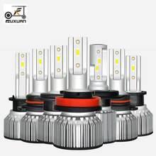 FUXUAN LED Bulb for Auto Led Ice Bulb H4 H7 H11 Led Headlight 9005 9006 hb3 hb4 Headlamp 6400LM 6000K 50W 12V Car Light(LED) braveway led bulb for auto led ice bulb h4 h7 h11 led headlight 9005 9006 hb3 hb4 headlamp 12000lm 6500k 80w 12v car light led