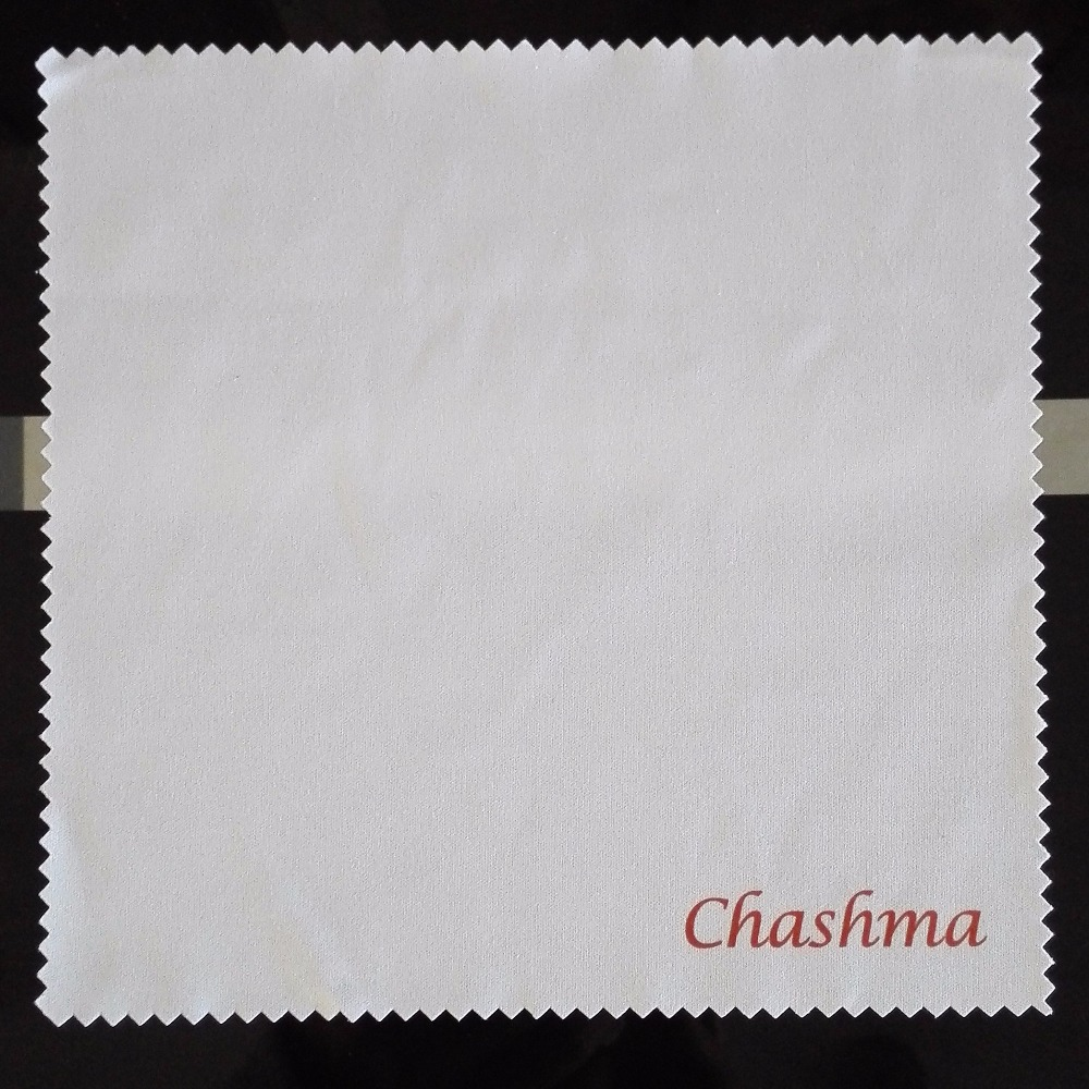 Chashma Brand Cleaning Cloth Super Quality Eyeglasses Lenses Wipe Cloth for Glasses