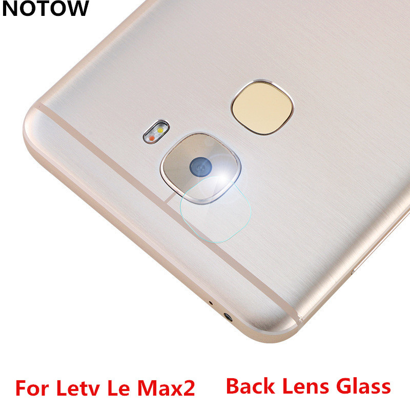 NOTOW flexible Rear Transparent Back Camera Lens Tempered Glass Film Protector Case For Letv Le Max2