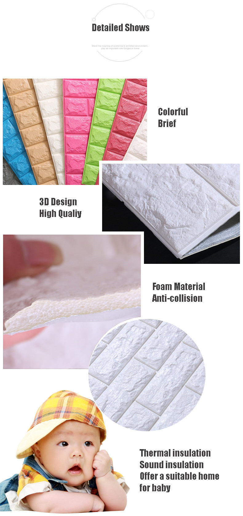 HTB1R00lOXXXXXXRXpXXq6xXFXXXx - DIY Self Adhesive 3D Wall Stickers Bedroom Decor Foam Brick Room Decor Wallpaper Wall Decor Living Wall Sticker For Kids Room