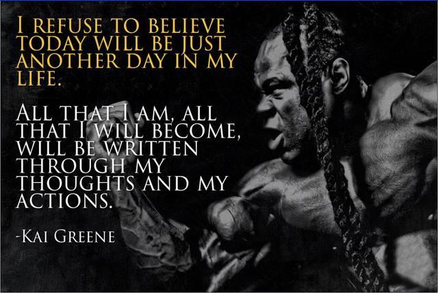 Gym Motivational Quotes | Kai Greene Muscle Bodybuilding Gym Motivational Quotes Art Silk