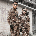 Military Uniform Outdoor Desert Camouflage  Army Suit  Winter Uniforme Militar Tactical Jacket+Pant Combat CS Hunting Clothing