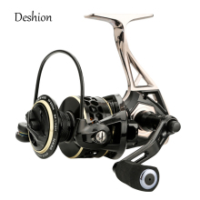 Deshion 9BB Trout Fishing Reel Anti-corrosive Metal Spinning Fishing Reels 2000-6000 Series Sea Fishing Wheel Saltwater