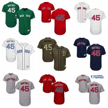 84f3afddb MLB Men's Boston Red Sox Pedro Martinez Father's Day White Red Green Navy  Cool Base Flex