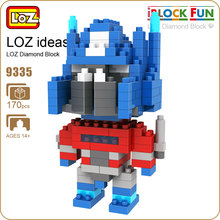 LOZ Diamond Blocks Action Figure Robot Toy for Children Micro Building Blocks Mini Pixels Kids Assembly Toy DIY Educational 9335