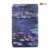 MDFUNDAS Retro Oli Paiting Tablet Case For Samsung Galaxy Tab S T700 8 4 High Quality
