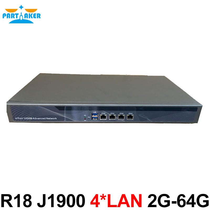 Network Firewall Security Service Appliance R18 J1900 with 2GB Ram 64GB SSD