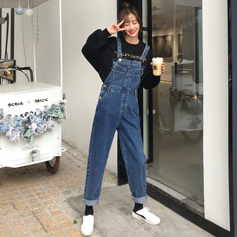 Cheap Wholesale 2019 New Spring Summer Autumn Hot Selling Women's Fashion Casual  Denim Pants FC210