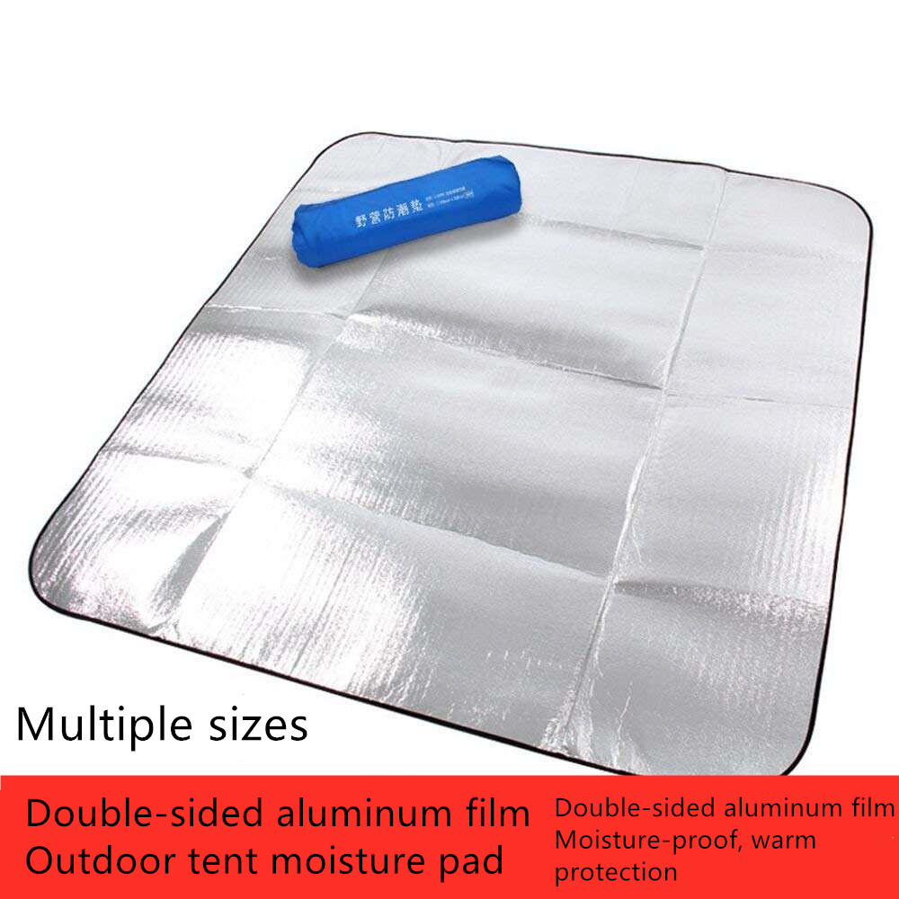 High Quality Outdoor Tent Mat Multi-Size Double-Sided Aluminum Film Moisture-Proof Warm Pad Camping Picnic Mat муфты ганзена