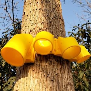 Image 3 - 実用的な植物サポートフレームビッグツリー成長サポートステークス三脚プラスチックカップ造園農具ガーデン用品