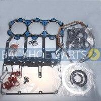 Kit de Junta do motor Completo 657 34261 para Lister Petter LPW3 LPW LPWS LPWT Kits p/ reconstrução do motor     -
