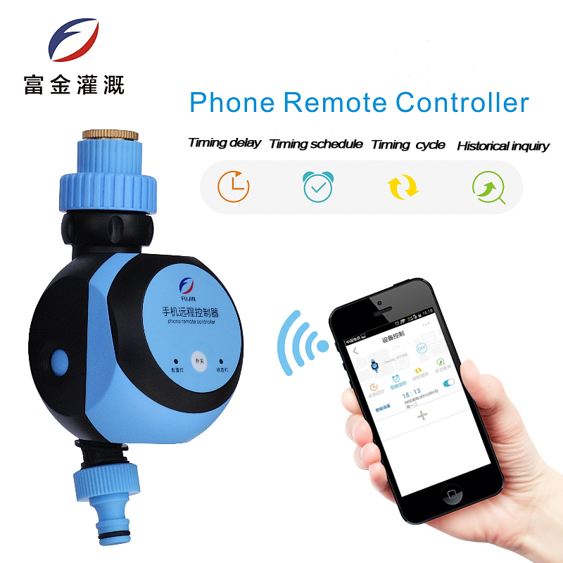 WIFI Smart watering valve,Intelligent drip irrigation phone remote controller,Diverse timing electronic garden water timer solenoid valve irrigation sprinkler solenoid valve garden irrigation controller watering system