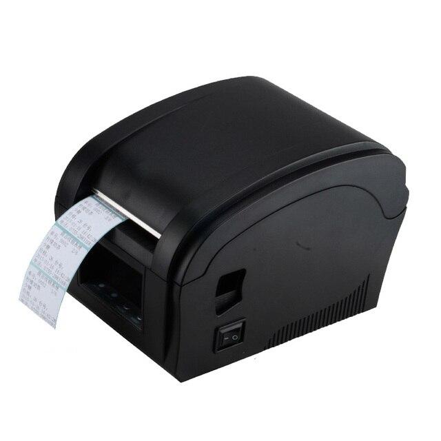 Тепловая штрих принтер этикеток 80 мм принтер машину стикер Xprinter 360B usb провод принтера большого зубчатого колеса pos-системы с горячей продажа