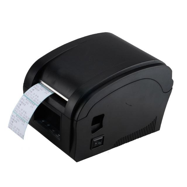 Máquina impresora de etiquetas de código de barras térmica 80mm impresora etiqueta Xprinter 360B usb cable de impresora de rueda dentada grande sistemas pos s caliente venta