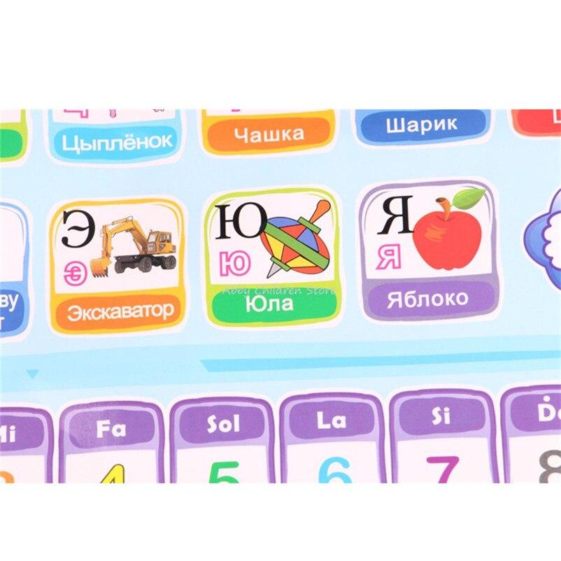 Russische Alphabet Englisch Lernen Maschine Elektronische Alphabet ...