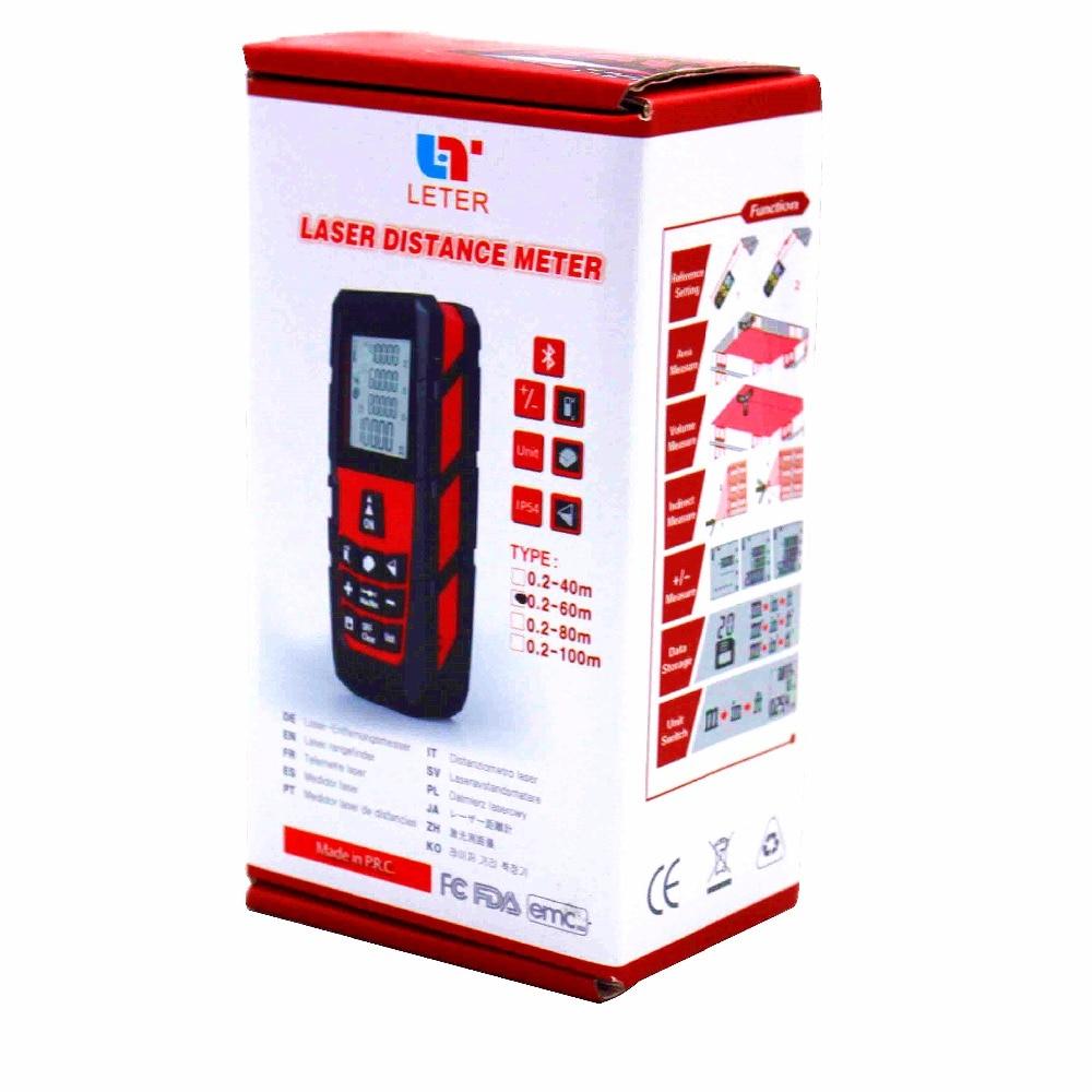 LETER MS-80a 80 m laser rangefinder / handheld range finder / laser ruler  цены