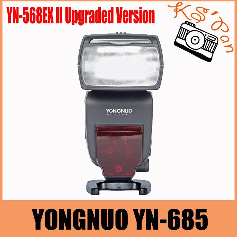 YONGNUO YN685 YN-685 sans fil HSS TTL Speedlite Flash intégré récepteur travaillé avec YN622C YN560 YN560-TX RF605 RF603II