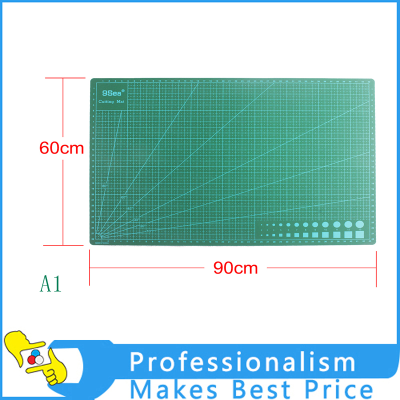 NEW PVC Material Patchwork Tools A1 Cutting Mat Manual DIY Tool Cutting Board Double-sided Available Self-healing Cutting Pad top quality pvc rectangle self healing cutting mat tool non slip craft quilting printed professional double sided cutting mat