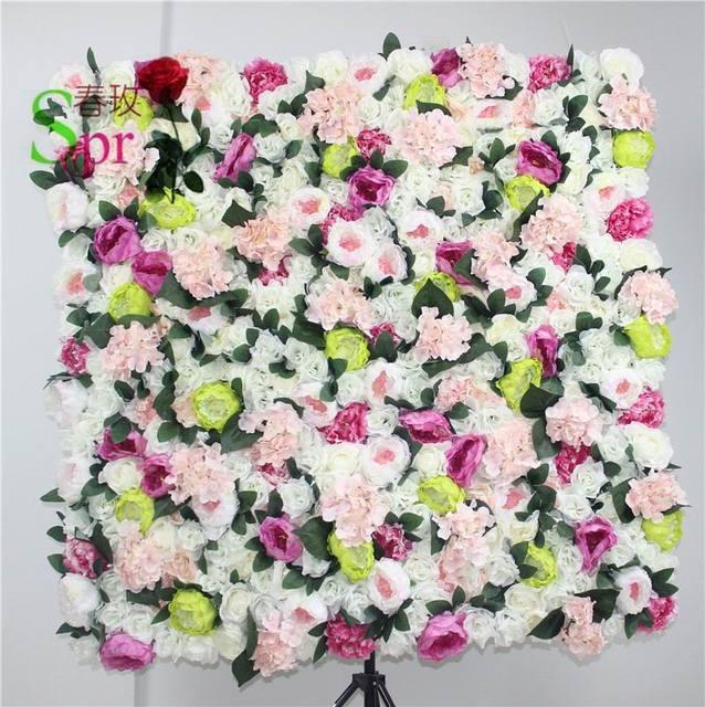 SPR NEW High quality 10pcs/lot wedding flower wall arch flore backdrop decorative wholesale artificial flower table centerpiece