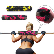 Fitness Barbell Squat Pad Thick Heavy Duty Foam Support Squat Bar Weight Lifting for Neck and Shoulder Crossfit Gym Equipment