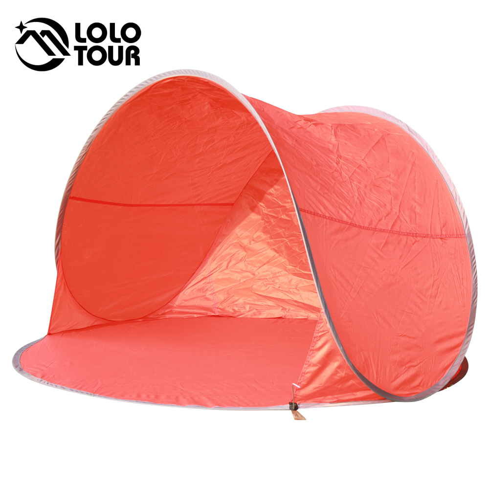 Summer Instant Pop Up Tent Outdoor Gazebo C&ing Beach Shelter Awning Fishing UV Sun Shade Quick Open Tent 1 2 People Sky Blue-in Tents from Sports ...  sc 1 st  AliExpress.com & Summer Instant Pop Up Tent Outdoor Gazebo Camping Beach Shelter ...