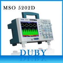 Hantek 200MHz MSO5202D ผสมสัญญาณ Digital Oscilloscope 16 Logical ช่อง +) + 2 Analog ช่อง + ทริกเกอร์ภายนอก