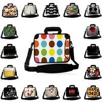 Viviration Zippers Computer Handle Bag Neoprene 17 15 14 15.6 13 13.3 12 10 10.1 Notebook Shoulder Strap Briefcase For Macbook