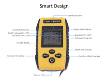 Free Shipping!Hot Sale Brand New KDR Alarm 100M Portable Sonar LCD Fish Finders Fishing lure Echo Sounder Fishing Finder