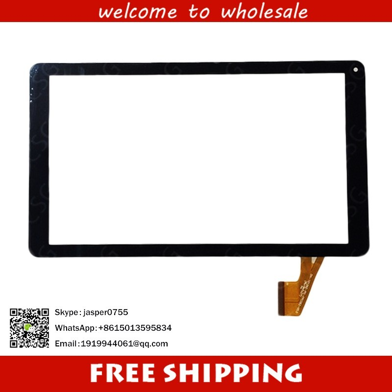 New touch screen Digitizer For 10.1 inch Excelvan BT-1077 Tablet Touch panel Glass Sensor replacement Free Shipping new white 10 1 inch tablet 10112 0b50550 touch screen panel digitizer glass sensor replacement free shipping